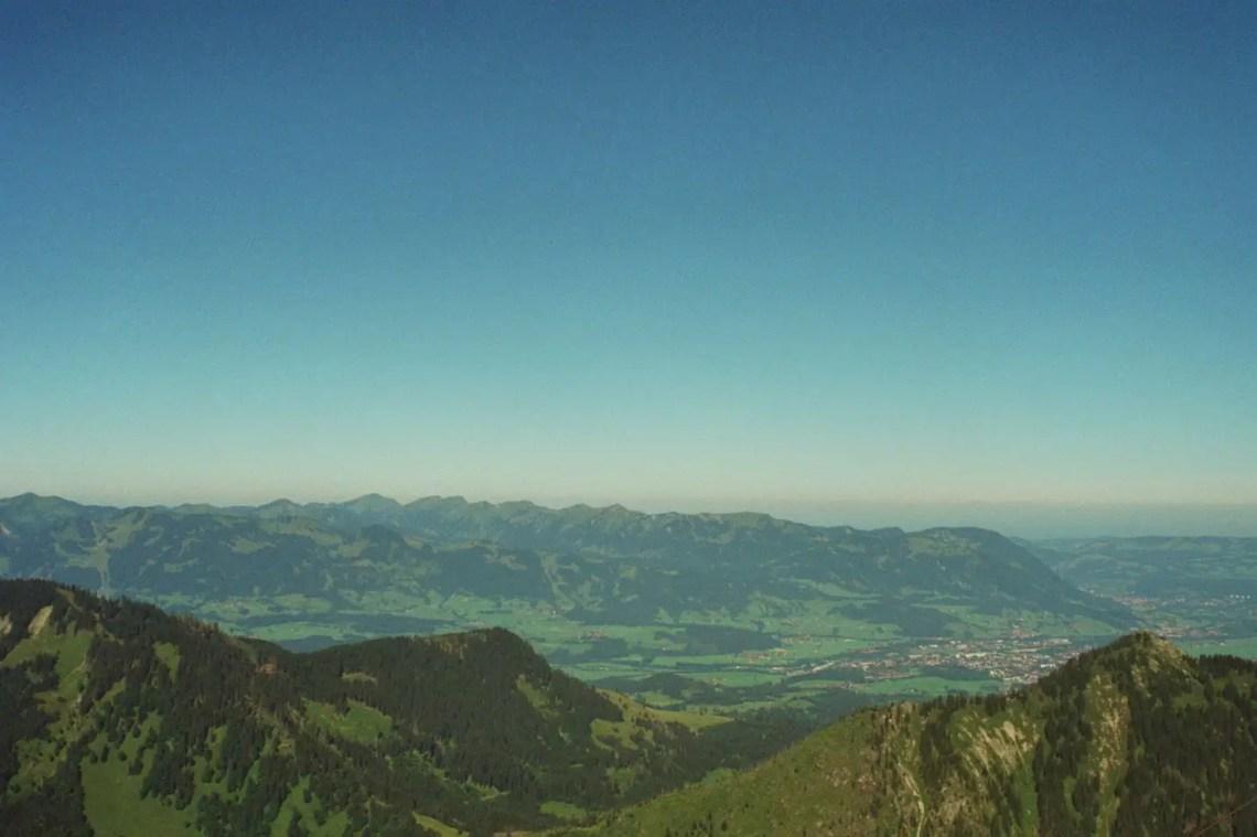 Sonthofen vom Breitenberg aus gesehen