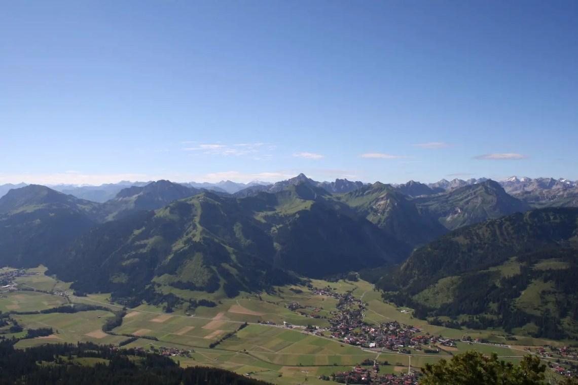 Die Ortschaft Tannheim