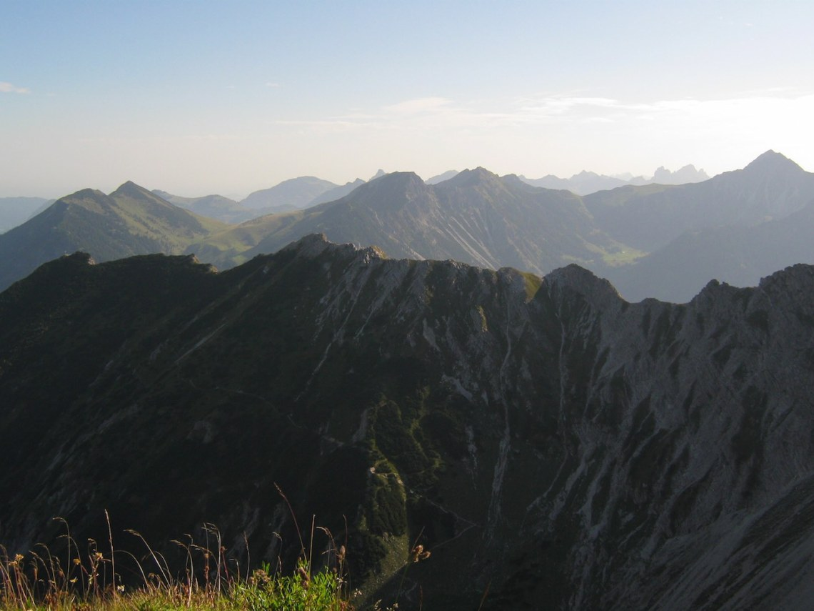 Blick zum Breitenberg