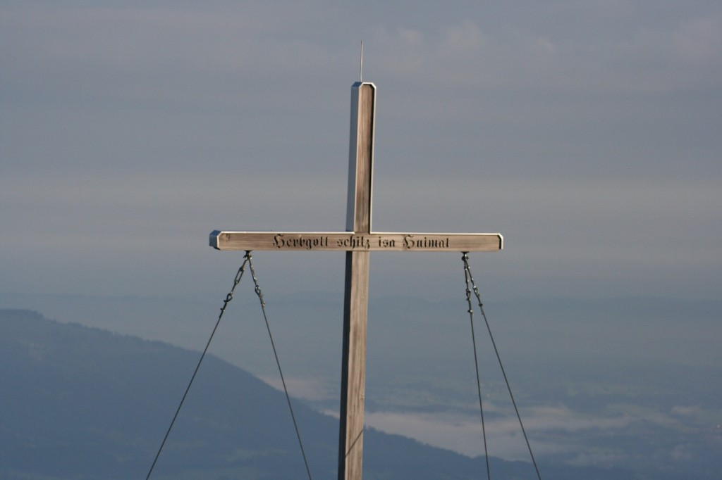 Gipfelkreuz am Rubihorn