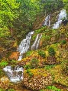 Wasserfälle auf dem Weg zum Immenstädter Horn