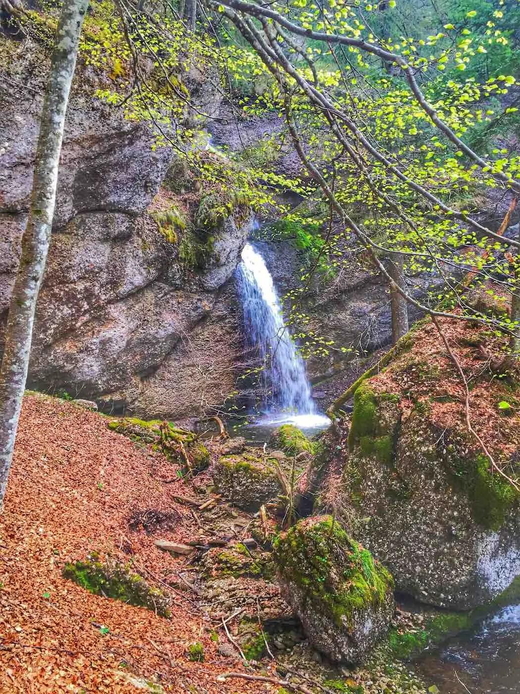Wasserfall am Immenstädter Horn