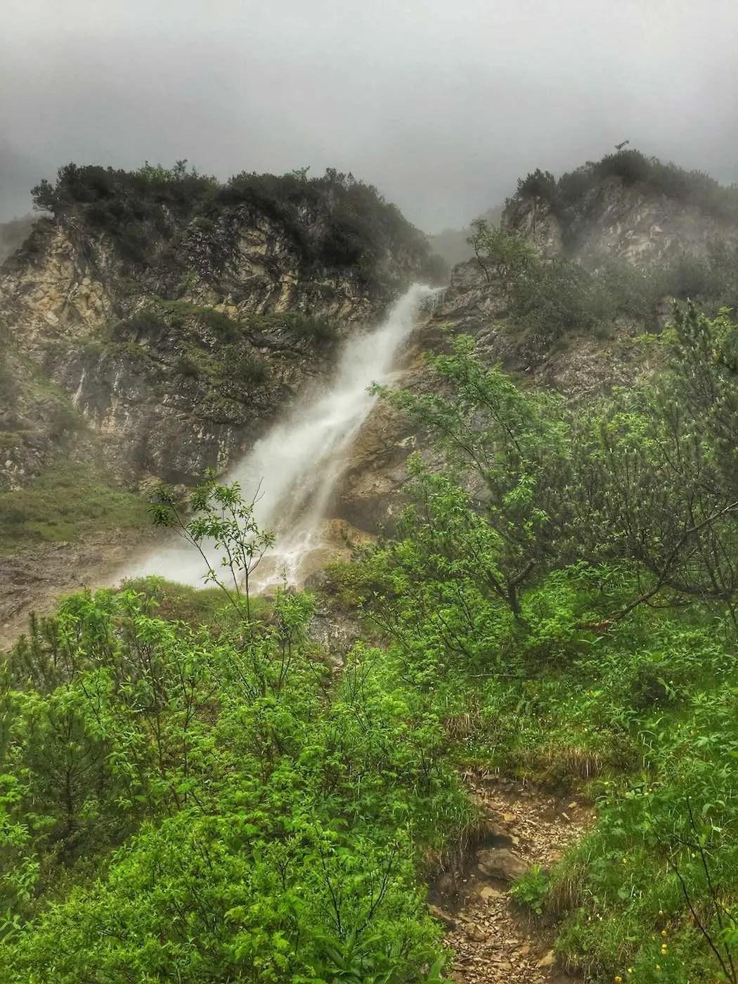 Wasserfall am Aufstieg zur Wildenalpe