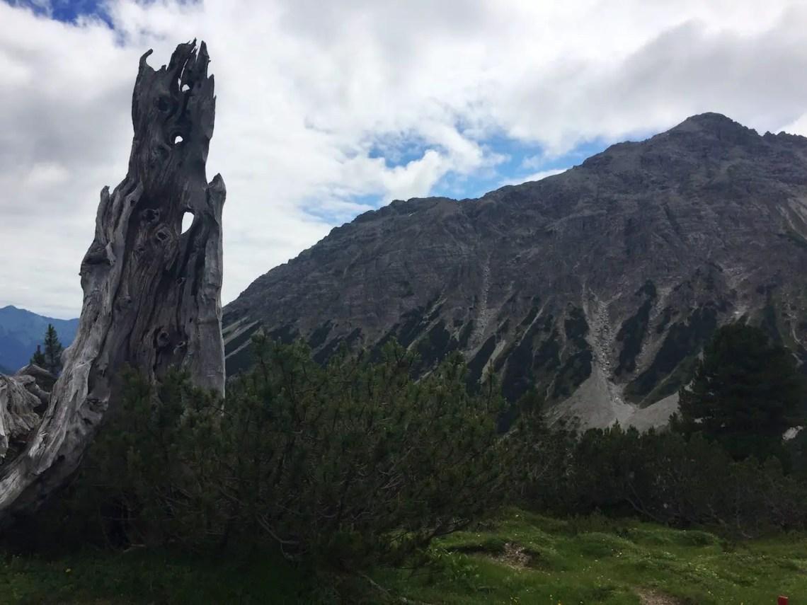 Blick zur Leilachspitze