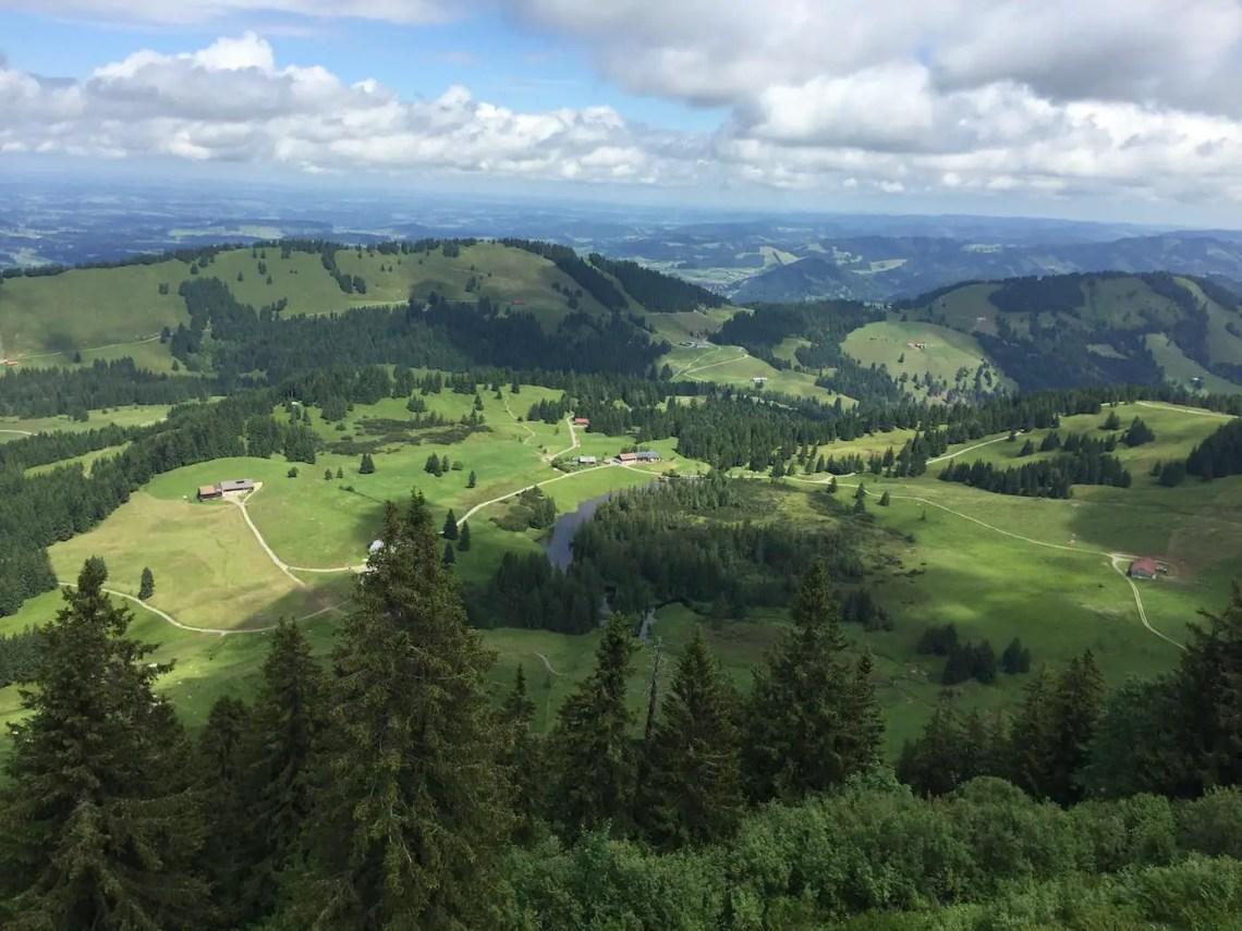 Hörmoss - Ausblick vom Steig