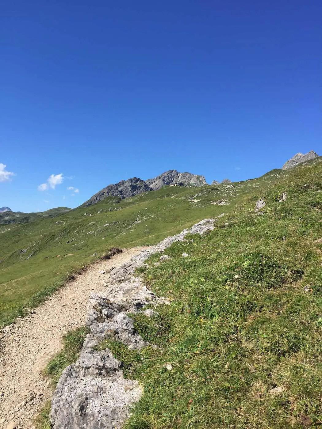 Die letzten Meter zur Mindelheimer Hütte