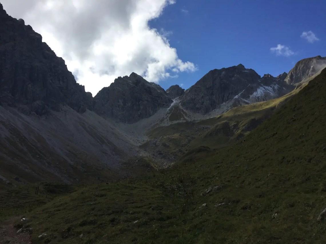 Weg durch das obere Wildental