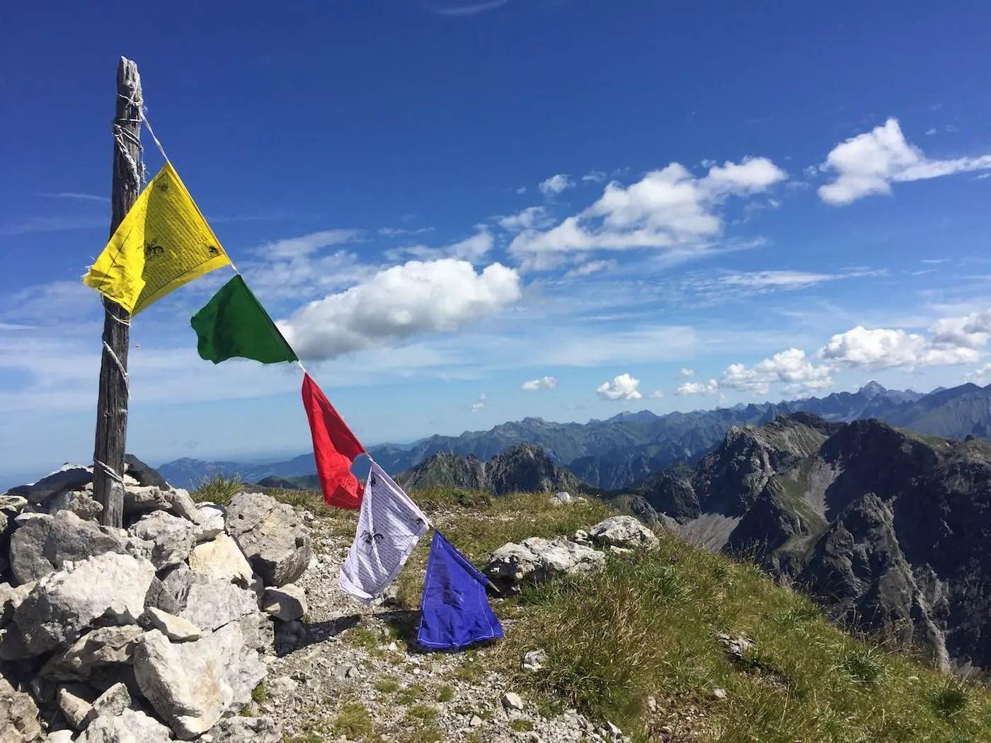 Liechelkopf Gipfelbereich