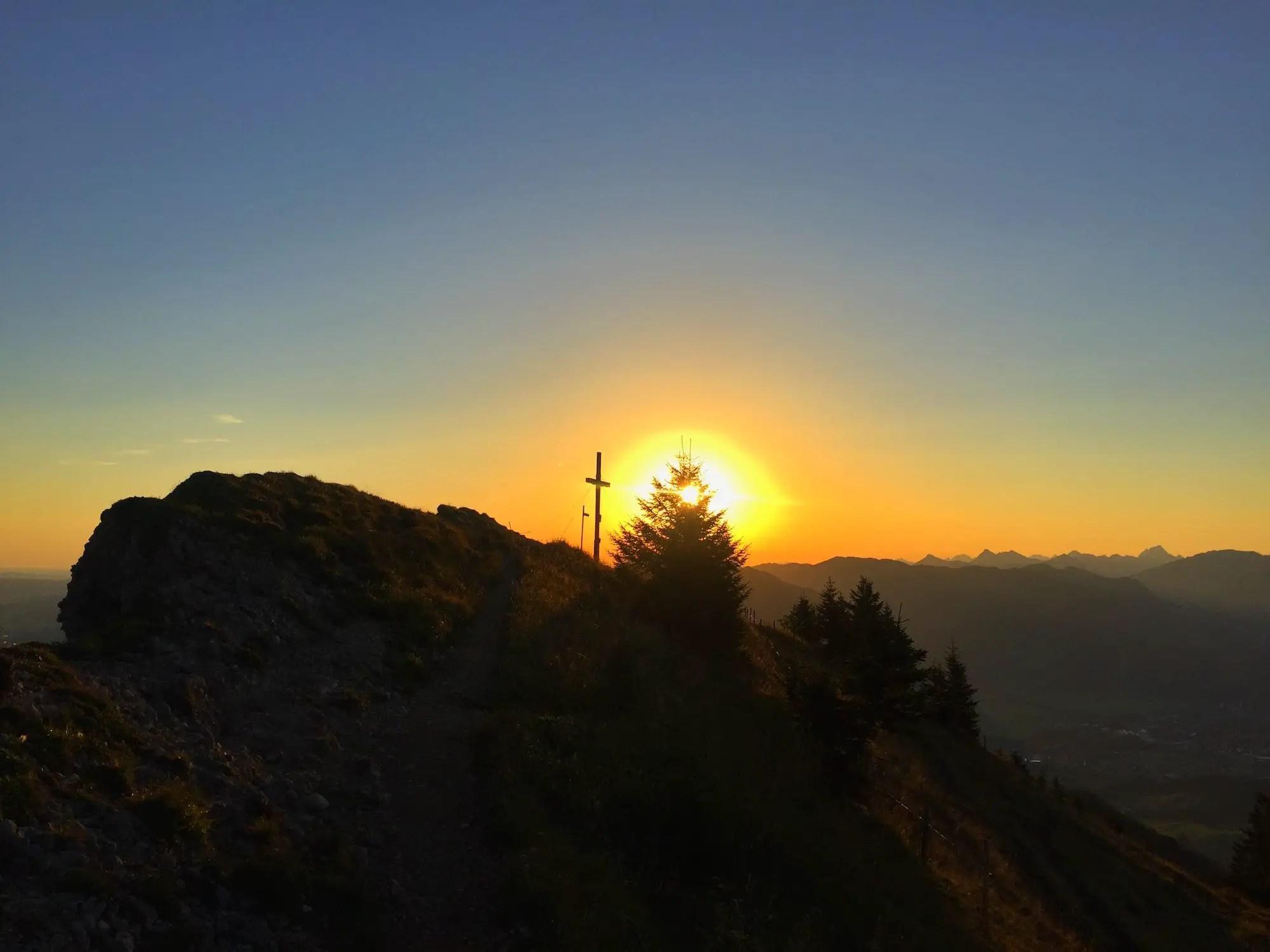 Sonnenaufgangstour auf den Steineberg