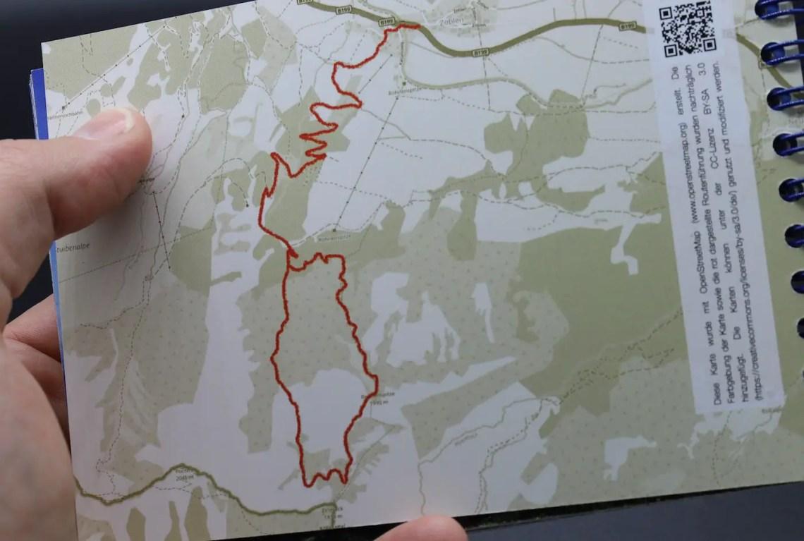 Das Fototourenbuch Kartenansicht