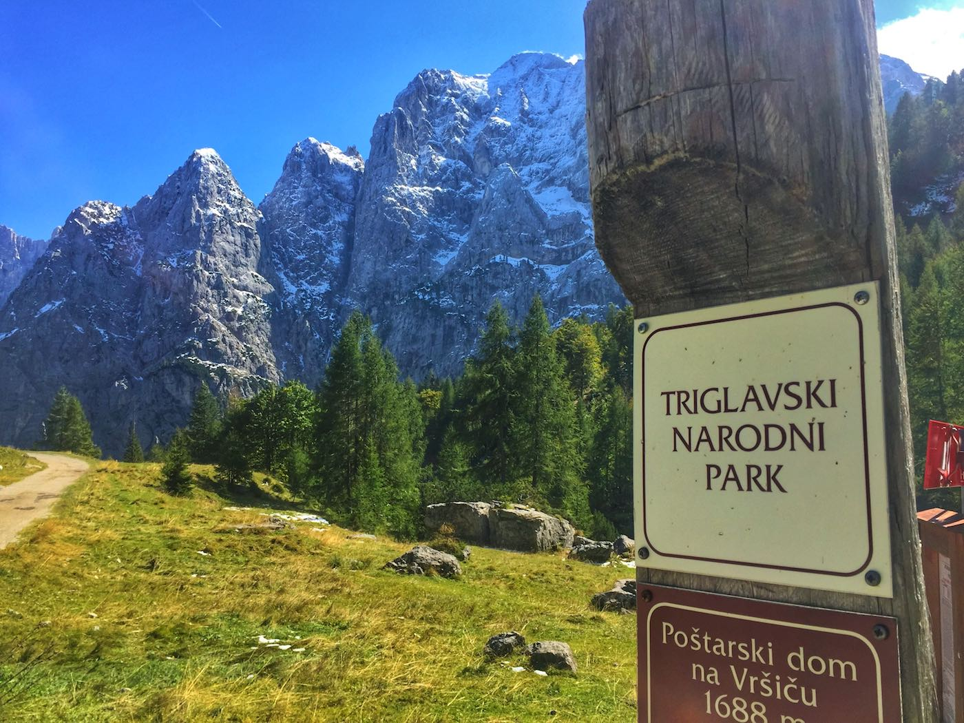 Der Triglav Nationalpark in Slowenien