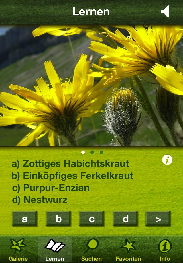 Blumen Erkennen App