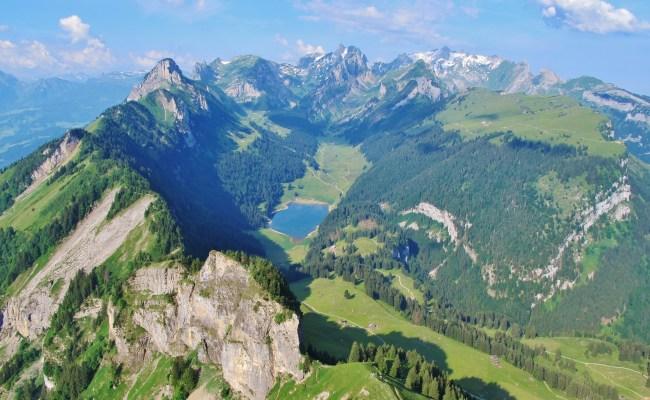 Der Alpstein Bergwelt