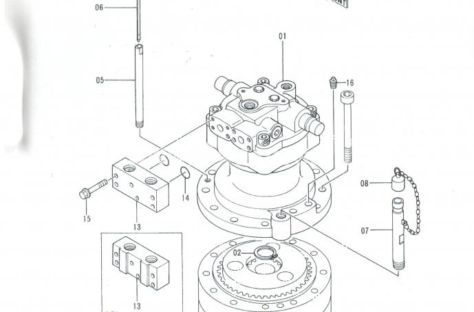 Продам: 9133435 поворотная платформа редуктор HITACHI EX400