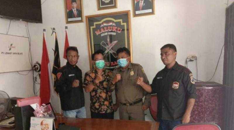 Mantapkan Pengurus M1R Kabupaten Bogor, Menyerahan Legalitas ke Kesbangpol