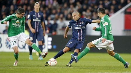 Prediksi AS Saint-Etienne vs Paris Saint-Germain