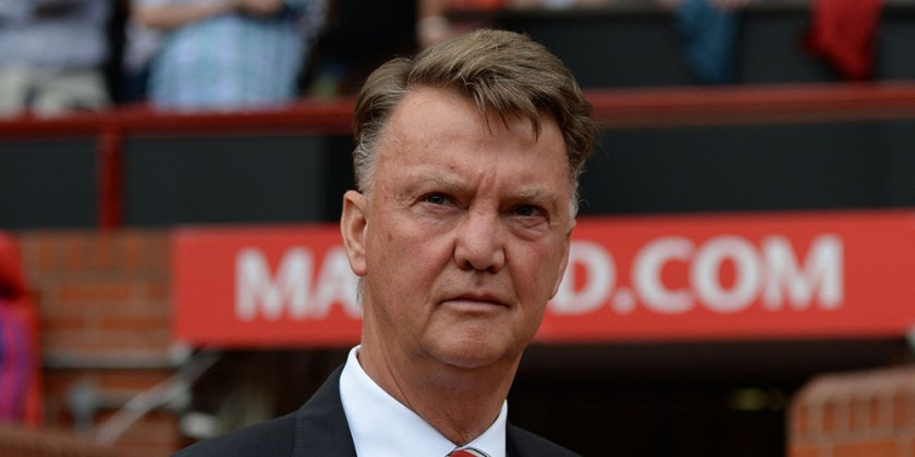 Manchester United's Dutch manager Louis van Gaal arrives ahead of the English Premier League football match between Manchester United and Newcastle United at Old Trafford in Manchester, north west England, on August 22, 2015. AFP PHOTO / OLI SCARFF RESTRICTED TO EDITORIAL USE. No use with unauthorized audio, video, data, fixture lists, club/league logos or 'live' services. Online in-match use limited to 75 images, no video emulation. No use in betting, games or single club/league/player publications.
