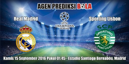 Prediksi Real Madrid Vs Sporting Lisbon