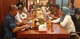 Rapat pembahasan pembayaran tanah Bendungan Pammukkulu di pimpin Wabup Takalar. (BERITA.NEWS/Abdul Kadir).
