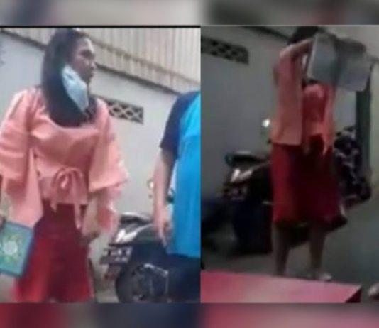 Perempuan Viral Pelempar Al Quran di Makassar