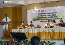 Rakor TPAKD Kabupaten Luwu dipimpin Bupati H Basmin Mattayang. (Dok. Foto Humas Pemkab Luwu).