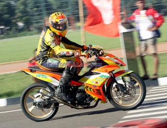 Rahasia Tune-up MX King 150 'Dadan Alamsyah', Jawara MP1 Road Race Cimahi