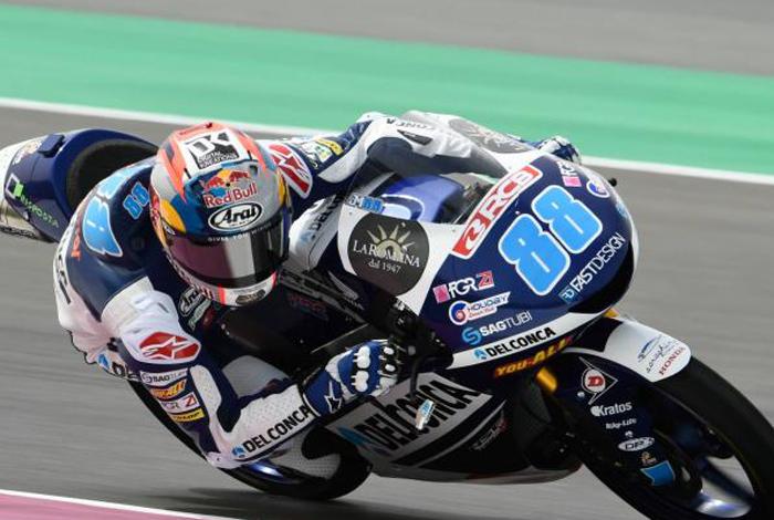 Moto3 Aragon (Kualifikasi) : Milik Jorge Martin (Spanyol), Tapi 5 Italian di Posisi 3-7 !