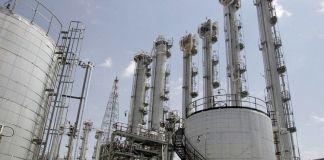 reaktor nuklir air berat di Arak