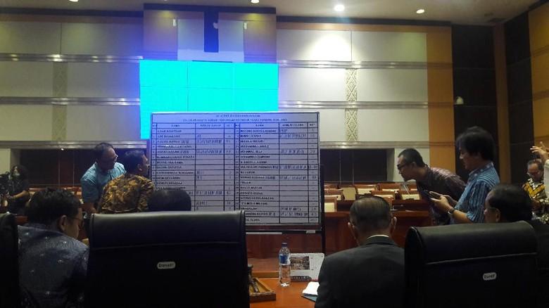 Voting Pemilihan Komisioner KPI