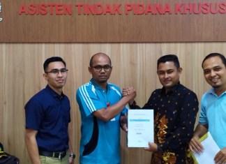 GeRAK Laporkan Dugaan Korupsi Aset Pendopo Wali Kota Subulussalam Dilaporkan ke Kejati Aceh