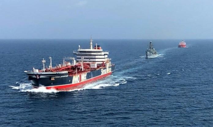 Iran Sita Kapal Tanker Asing