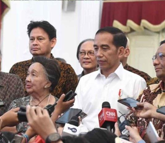 Jokowi Demonstrasi