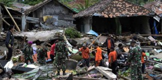 penanggulangan bencana alam di Indonesia