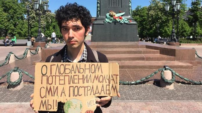 Aktivis Iklim Ruasia