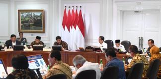 Rapat terbatas RUU Omnibus Law