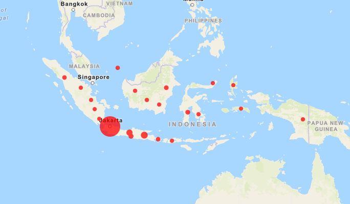 Covid-19 Indonesia : DKI Jakarta Tertinggi Dengan 463 Kasus