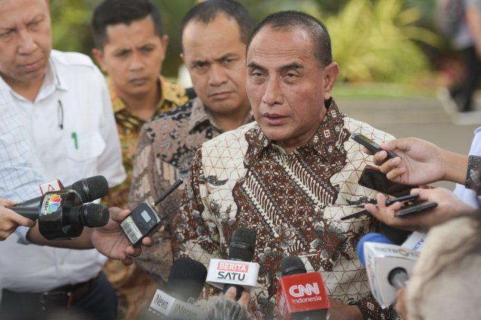 Gubernur Sumut Laporkan Kesiapan Jadi Tuan Rumah PON 2024