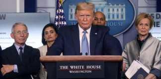 Trump Sebut Amerika Belum Akan Lock Down