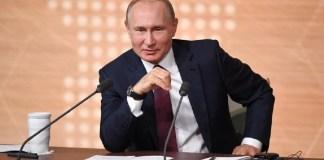 Berita Baru, Vladmir Putin