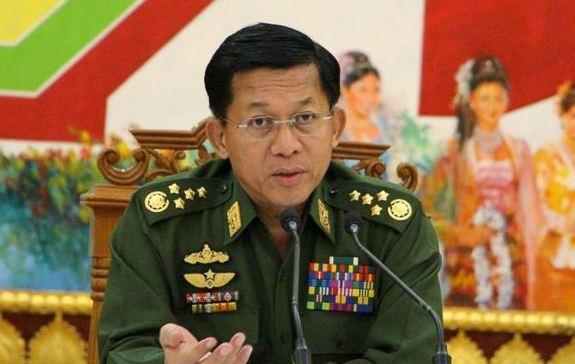 Min Aung Hlaing.