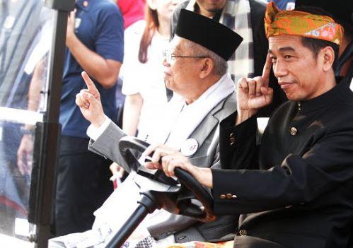 Jokowi-Ma;ruf Amin.