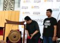 Ketua TKN Jokow-Ma'ruf Amin, Erick Thohir saat membuka acara Leadership Talk Aktivis Milenial Makassar di Hotel Swiss Bel'In Panakkukang Makassar, Kamis (20/12/2018).