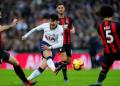 Aksi Son Heung-min saat Hotspur kalahkan Bournemouth 5-0.
