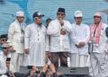 Prabowo Subianto saat pidato di reuni 212.