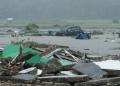 Kerusakan yang diakibatkan tsunami Selat Sunda.