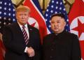 Donald Trum dan Kim Jong Un.