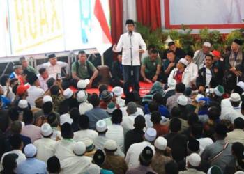 Jokowi kampanye terbuka di Lhokseumawe.