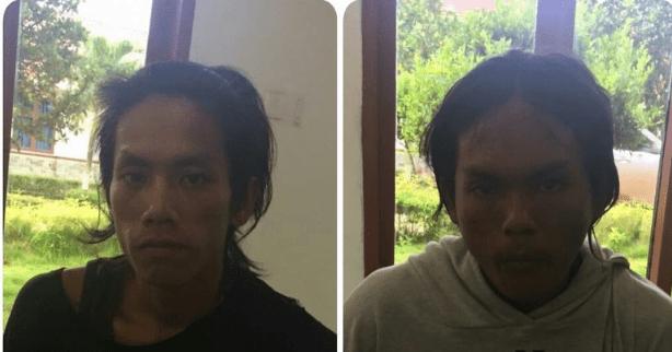 Hendri dan Nang pembunuh dan pemerkosa calon pendeta (ist).