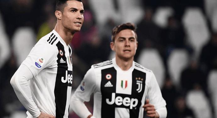 Cristiano Ronaldo dan Dybala.