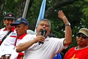 Orasi oleh anggota DPR RI